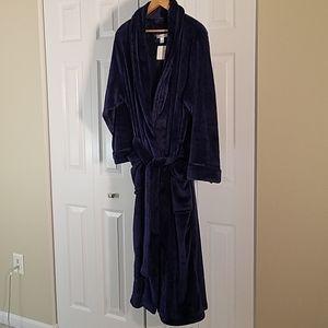 Carole Hochman solid Plush Luxe Velour Robe